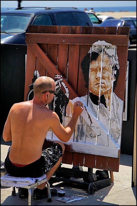 Venice artista callejero