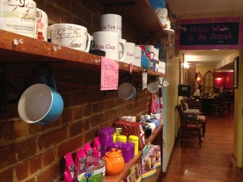 cafetería Alicia en el país de las Maravillas Nueva York
