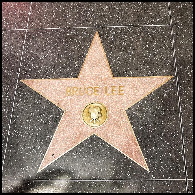 estrella Bruce Lee paseo fama